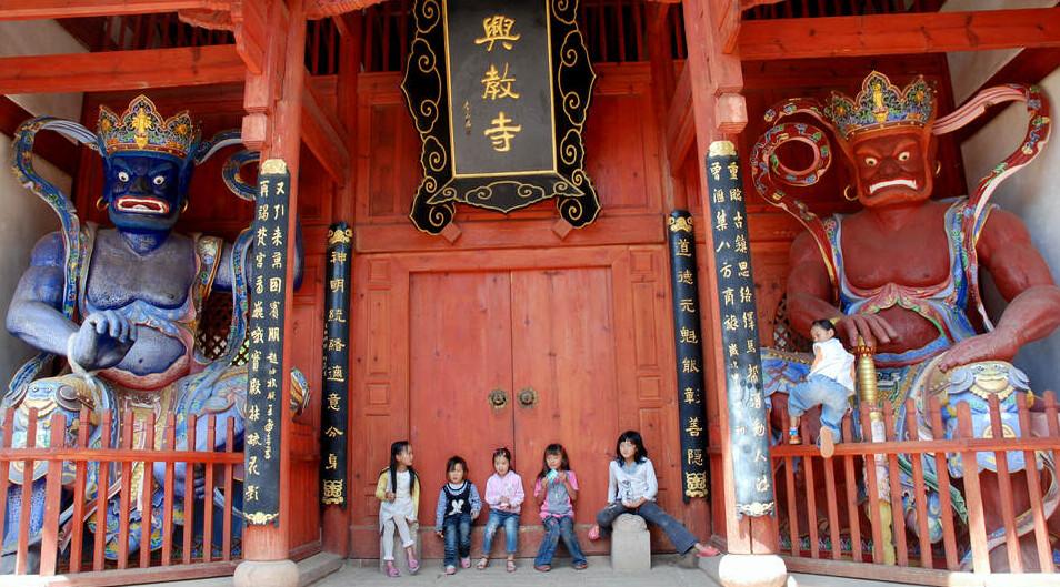 Shaxi Xingjiao Temple - Yunnan China