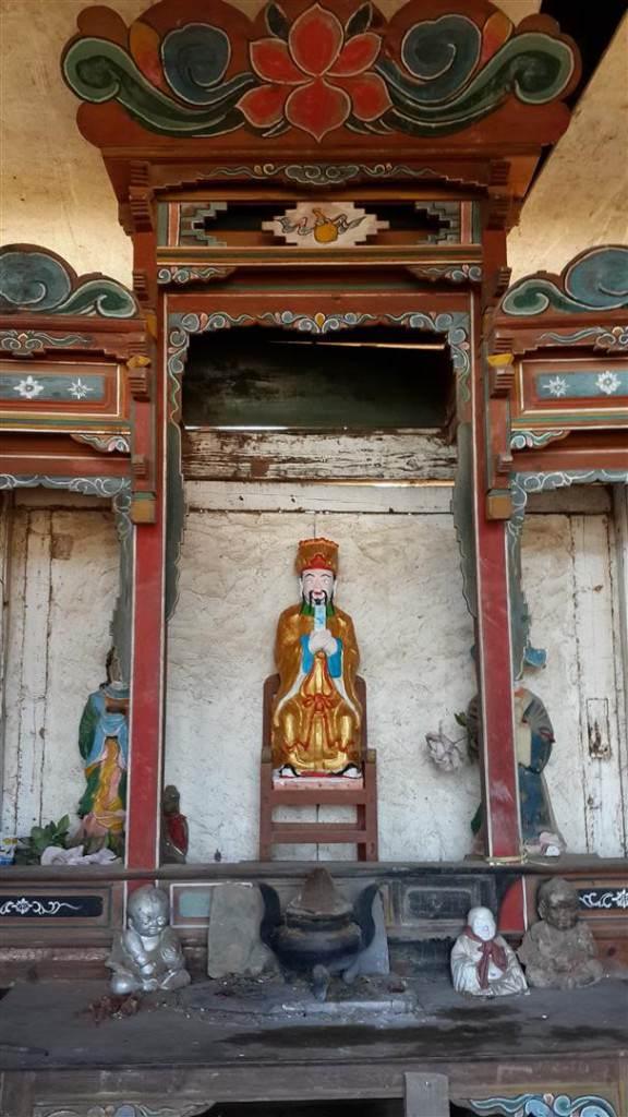 Shaxi village temple Jade Emperor - Shaxi Yunnan China