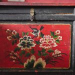 Shaxi hotels - Old Theatre Inn antique cabinet - Yunnan China